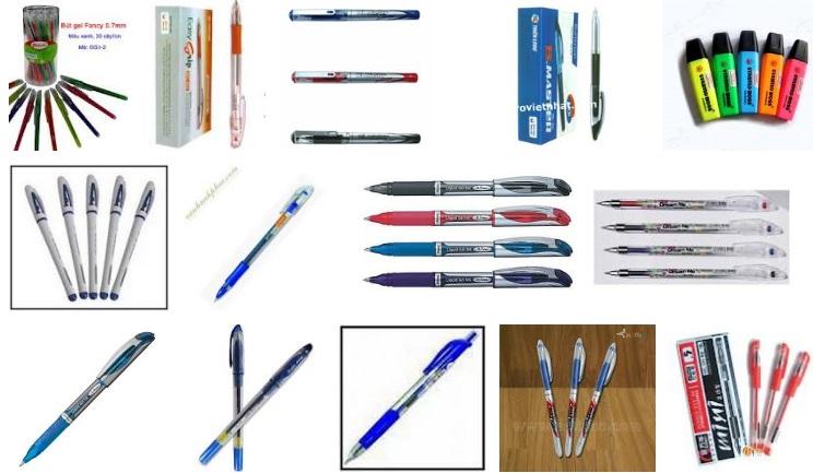 Bút viết các loại