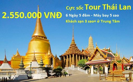 Du lịch Thái Lan giá rẻ 2014