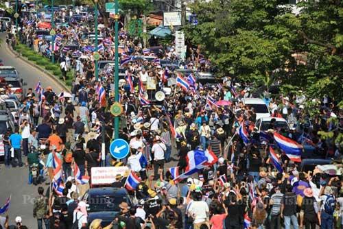 Tình hình biểu tình ở Thái Lan hiện nay