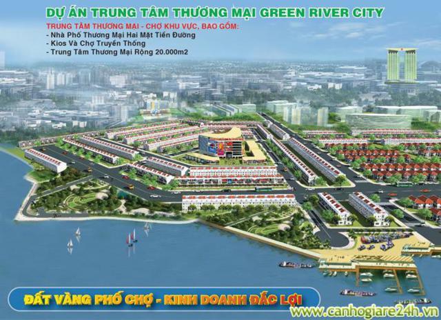 THE GREEN RIVER CITY, ĐẤT NỀN GIÁ RẺ TẠI BÌNH DƯƠNG