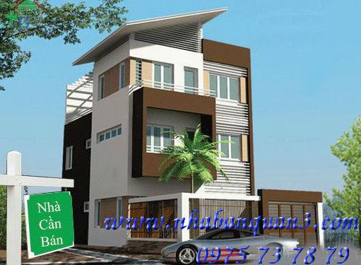 Nhà bán mặt tiền đường Nguyễn Thiện Thuật, Quận 3, dt 3,2x9 trệt 2 lầu, 5 tỷ
