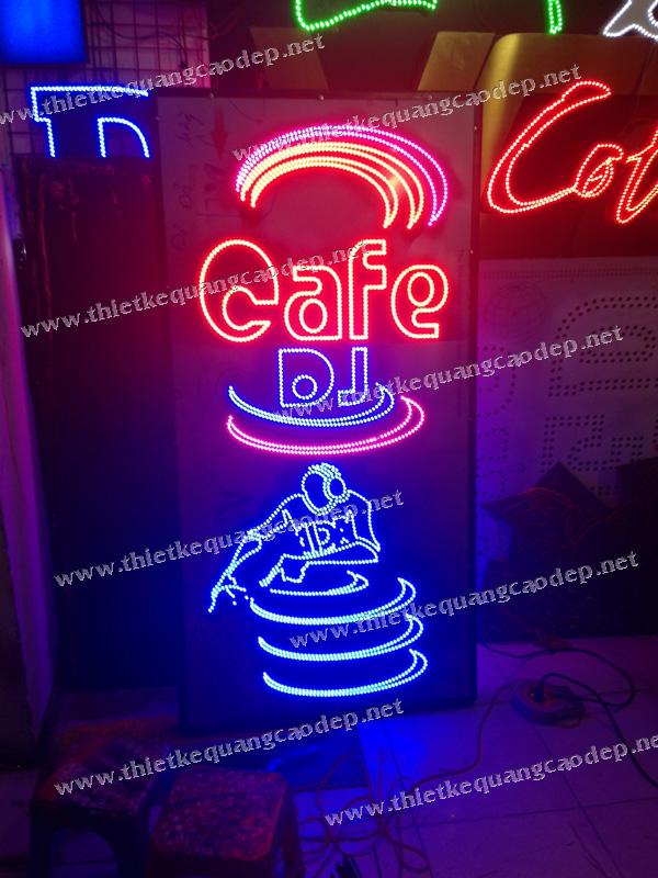 LED BẢNG HIỆU CAFE DJ