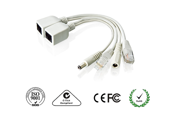 Bộ truyền tín hiệu và dẫn điện cho Camera IP