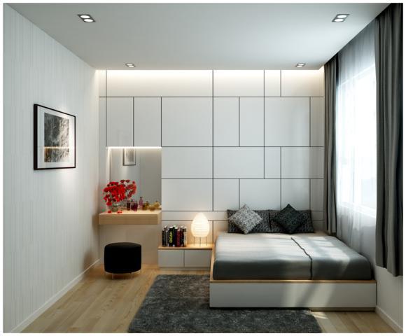 Phòng ngủ ấm cúng và lãn mạn