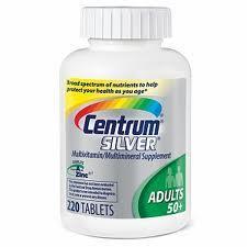 CENTRUM SILVER ADULTS 50+