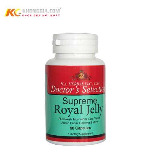 Sữa ong chúa Supreme Royal Jelly - Sữa Ong Chúa Nguyên Chất