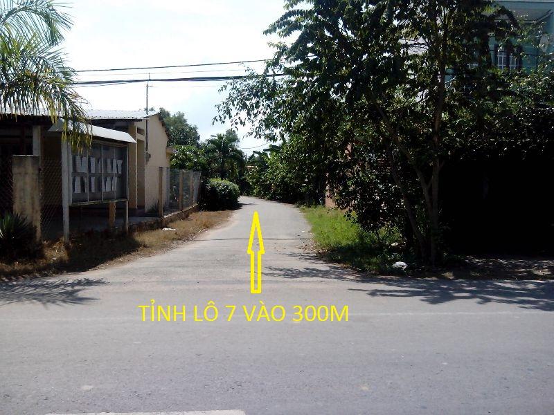 Bán đất 2 mặt tiền 12m x 60 m xã Thái Mỹ Củ Chi giá rẻ ( 350 triệu)